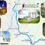 【桃园】假日小旅行!大溪一日游6景点~花海、美桥通通有