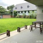 【苗栗】漂浮在稻浪上的教室。山水米有机稻场